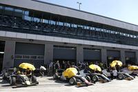 Kim-Luis Schramm, US Racing; Fabio Scherer, US Racing; Julian Hanses, US Racing; Nicklas Nielsen, US Racing