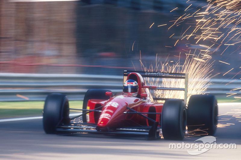 F1, Monza 1992: Ivan Capelli, Ferrari F92A