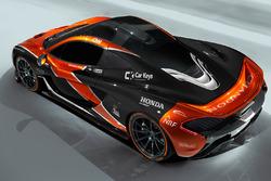 McLaren P1 con livrea McLaren
