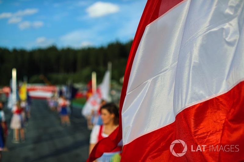 Грід-гьолз, прапор Австрії