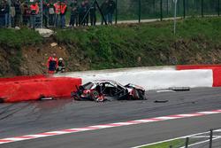 Bernd Schneider, AMG-Mercedes C-Klasse crashes