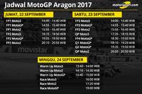 Jadwal MotoGP Aragon 2017