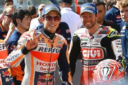 Pol pozisyonu sahibi Marc Marquez, Repsol Honda Team, Cal Crutchlow, Team LCR Honda