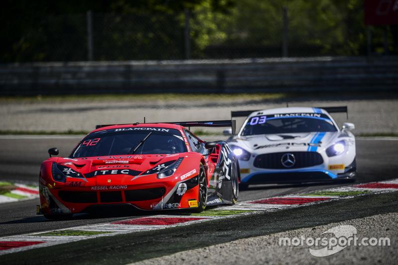 #888 Kessel Racing, Ferrari 488 GT3: Jacques Duyvier, Zanuttini, David Perell