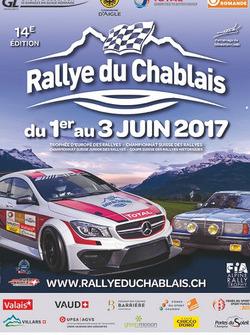 Rallye du Chablais, theaterplakat 2017