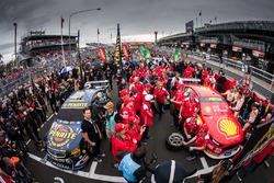 David Reynolds, Erebus Motorsport Holden, Scott McLaughlin, Team Penske Ford