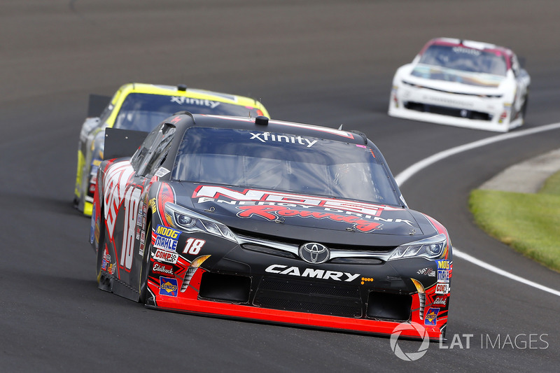 Kyle Busch, Joe Gibbs Racing Toyota yMatt Tifft, Joe Gibbs Racing Toyota