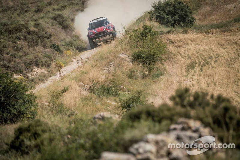 #207 Mikko Hirvonen, Andrea Schulz, Mini All4 Racing