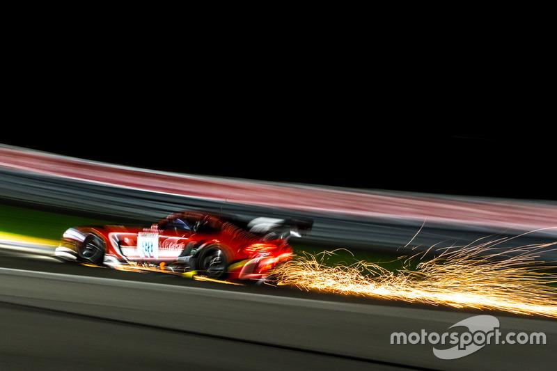 3. #88 Mercedes-AMG Team Akka ASP Mercedes-AMG GT3: Felix Serralles, Daniel Juncadella, Tristan Vautier