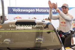 Winner Andreas Mikkelsen, Volkswagen Polo WRC, Volkswagen Motorsport