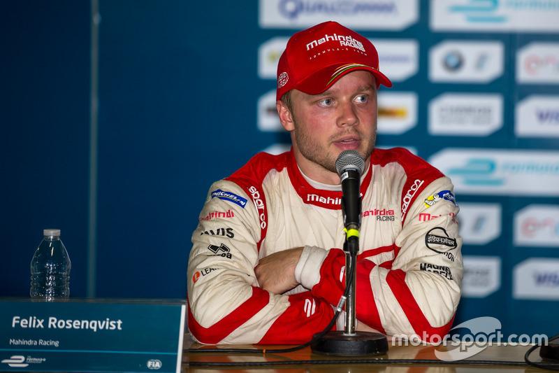 2. Felix Rosenqvist, Mahindra Racing