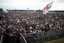 Fans at the stage