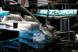 Mercedes-Benz F1 W08  rear detail