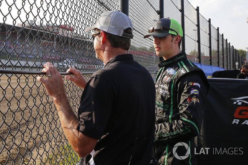 Doug Randolph y Austin Cindric, Brad Keselowski Racing Ford