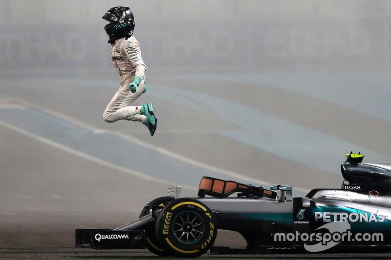 Weltmeister Nico Rosberg, Mercedes AMG F1 W07 Hybrid