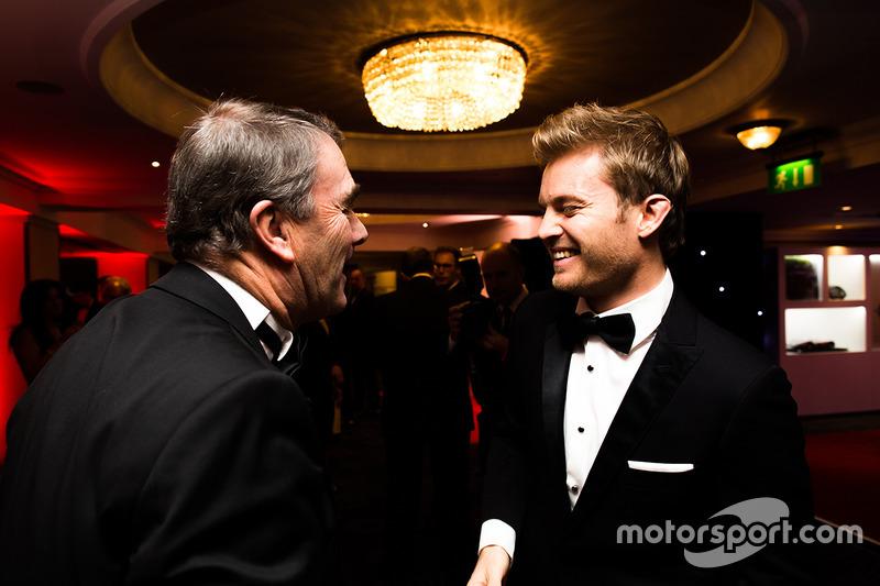 Campeón del mundoi Nico Rosberg, Mercedes AMG F1, Nigel Mansell