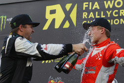 Podium: Petter Solberg, Petter Solberg World RX Team; Kevin Eriksson, Olsbergs MSE