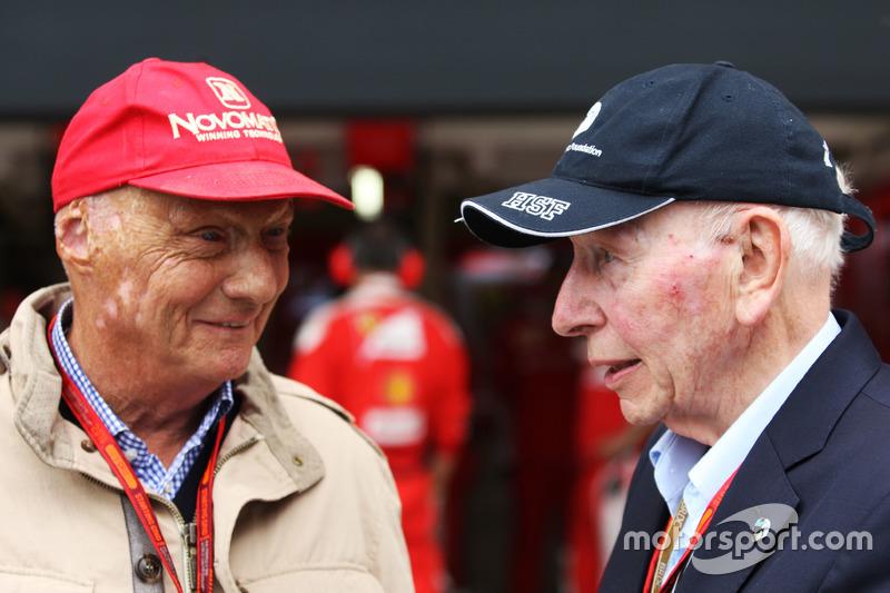 Niki Lauda, Mercedes con John Surtees