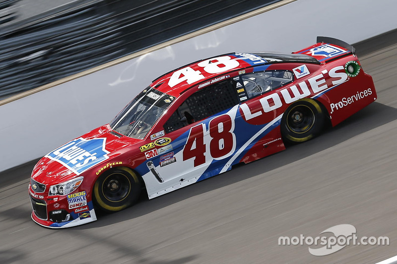 3. Jimmie Johnson, Hendrick Motorsports, Chevrolet