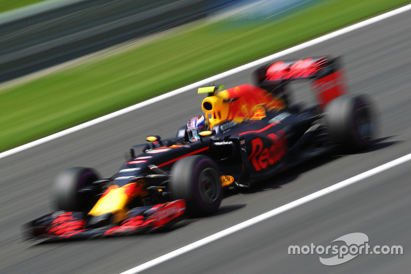 8: Max Verstappen, Red Bull Racing RB12