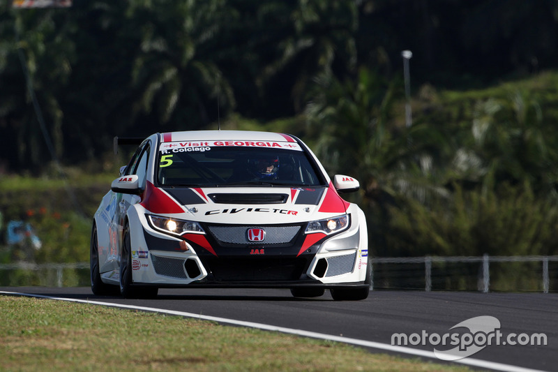 Roberto Colciago, Honda Civic TCR, Target Competition