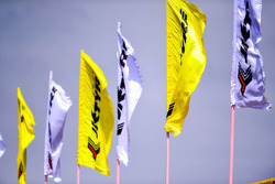 JK tyres flags
