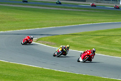 Carlos Checa, Yamaha Team and Valentino Rossi, Honda Team