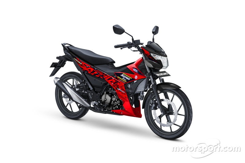 All New Satria F150 - Stronger Red