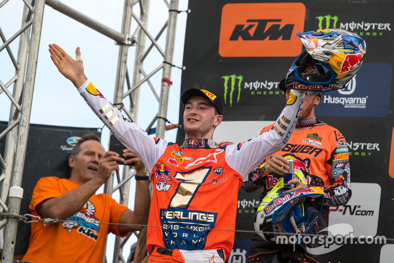 Jeffrey Herlings, Red Bull KTM Factory Racing y Tony Cairoli, Red Bull KTM Factory Racing