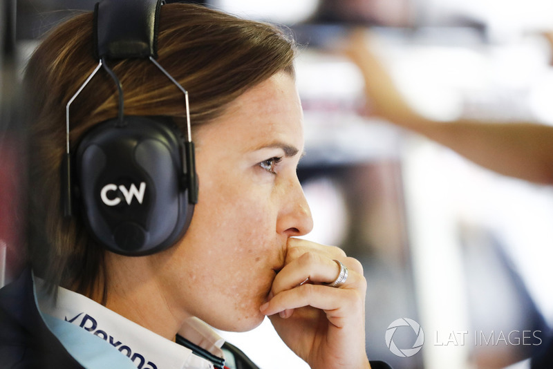 Claire Williams, directora de Williams Martini Racing