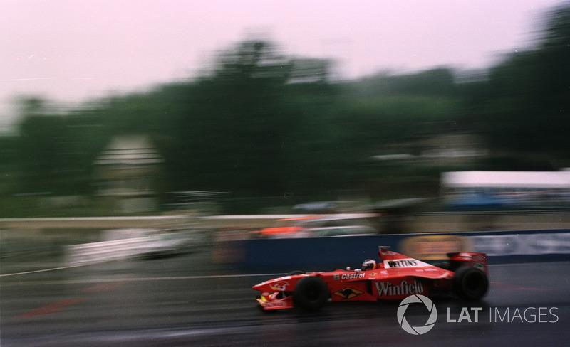 Хайнц-Харальд Френтцен, Williams FW20 Mecachrome