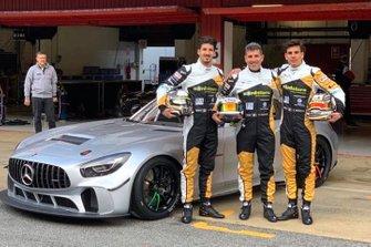 Stefano Monaco, Roberto Pampanini, Amedeo Pampanini, Scuderia Villorba Corse