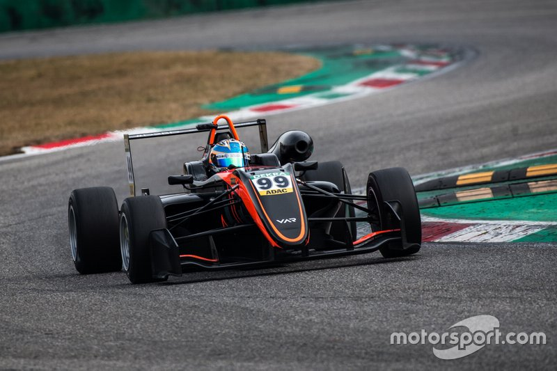 Essais de Van Amersfoort à Monza