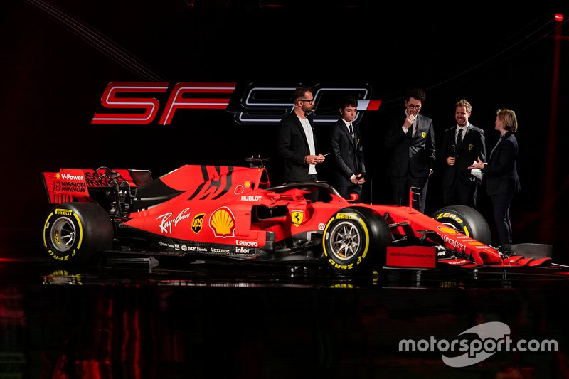 Ferrari Lancering