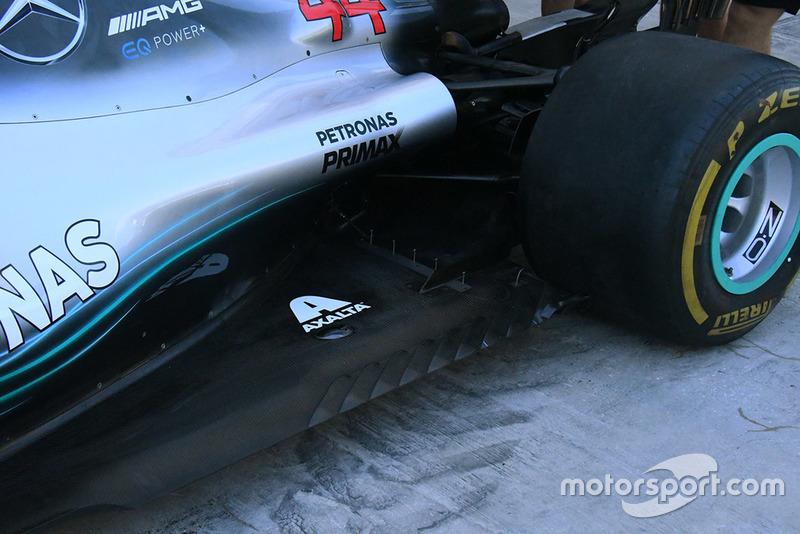 Detail Mercedes AMG F1 W09