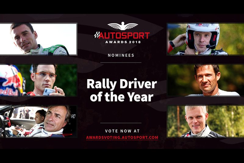 Autosport Awards 2018: Rally Driver of the Year