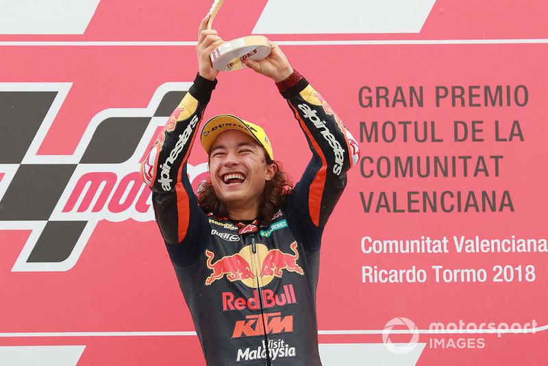 Podyum: Yarış galibi Can Öncu, Red Bull KTM Ajo