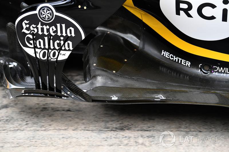 Renault Sport F1 Team R.S. 18 vloer detail