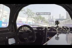 Roborace verseny Hong Kongban