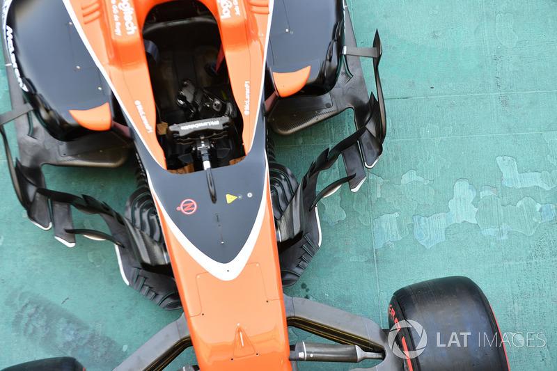 Detalle del McLaren MCL32