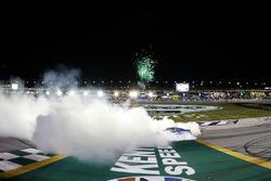 1. Martin Truex Jr., Furniture Row Racing, Toyota Camry Auto-Owners Insurance celebrates