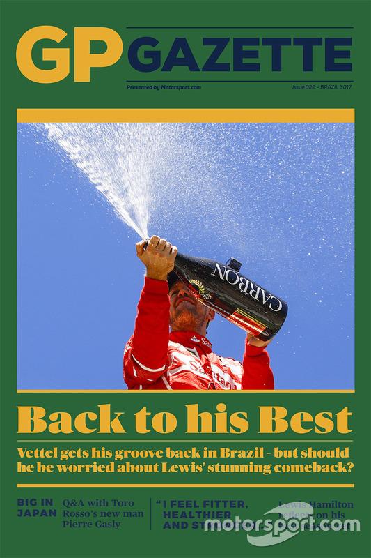 GP Gazette 022 Brazilian GP cover