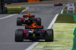 Max Verstappen, Red Bull Racing RB13 en Daniel Ricciardo, Red Bull Racing RB13