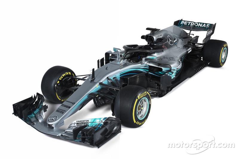Mercedes AMG F1 W08 vs. Mercedes AMG F1 W09