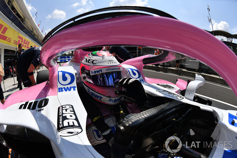 19: Sergio Perez, Force India VJM11, 1'19.200