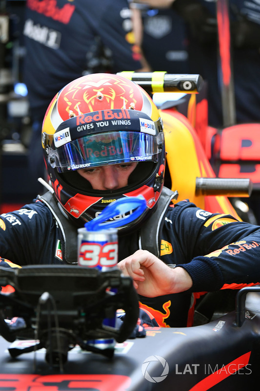 Max Verstappen, Red Bull Racing RB13 Max Verstappen, Red Bull Racing