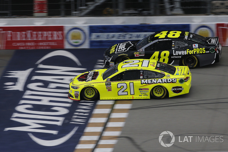 Paul Menard, Wood Brothers Racing, Ford Fusion Menards / Jack Links Jimmie Johnson, Hendrick Motorsport