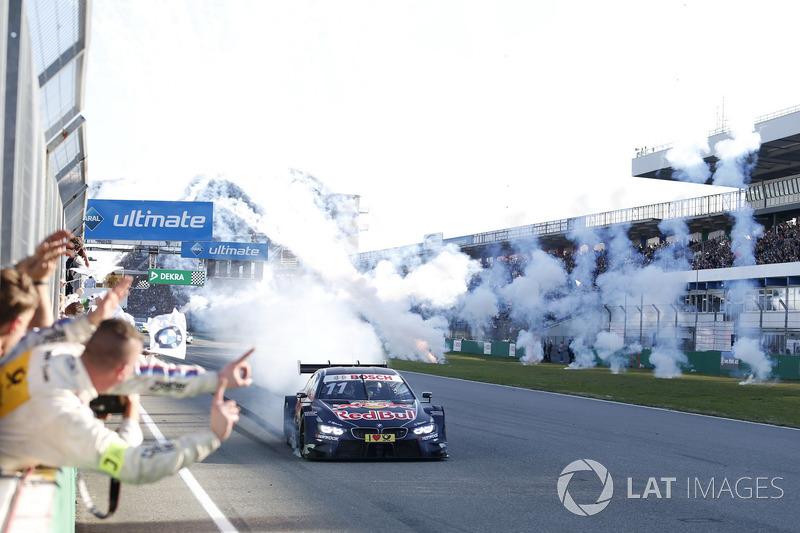 Переможець гонки Марко Віттман, BMW Team RMG, BMW M4 DTM