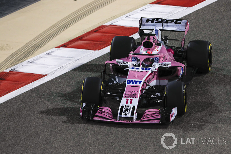 Sergio Perez, Force India VJM11 Mercedes