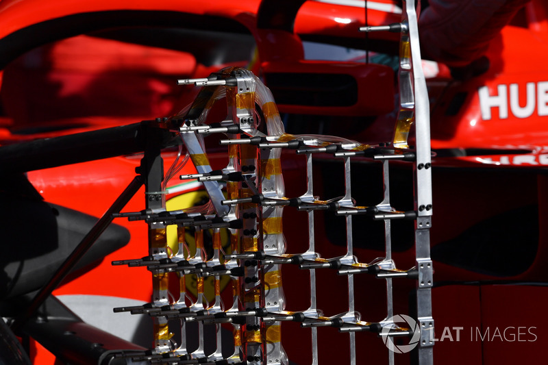 Аэродинамический датчик Ferrari SF71H